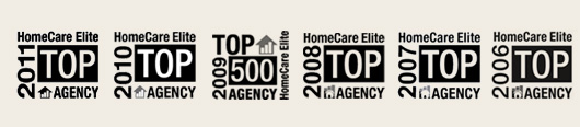 PCS Home Health has been name a Home Care Elite Top Agency for four years in a row.
