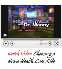 Choosing a Home Health Care Aide